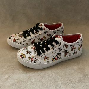 Disney Mickey Mouse Canvas Shoes